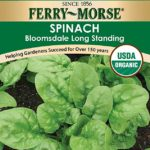 Ferry-Morse Organic Spinach Seeds – Bloomsdale Long Standing
