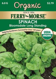 Ferry-Morse Organic Spinach Seeds